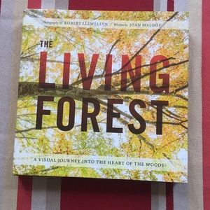 Other - THE LIVING FOREST... coffee table book